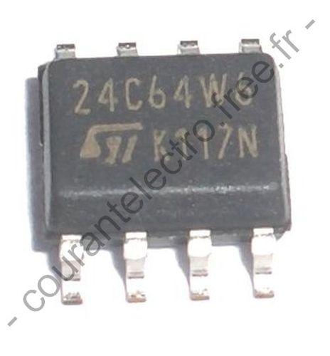 24C64-WMN6 64-Kbit serie I²C bus EEPROM