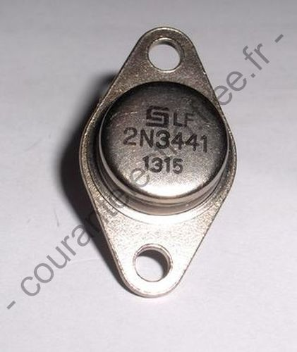 2N3441 Moyenne puissance silicium <h5>NPN</5>