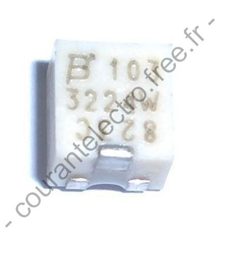 4 mm SMD Trimpot