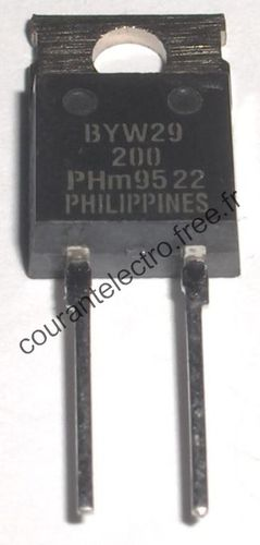 BYW29-200 SWITCHMODE Power Rectifiers