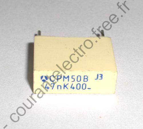 CPM50B 47nF K 400V