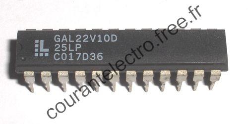 GAL22V10D-25LP