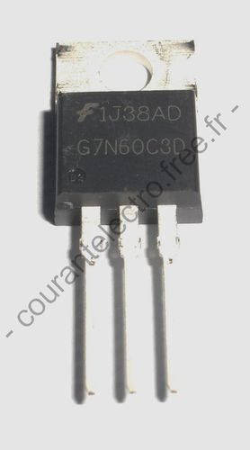UFS Series N-Ch IGBT with Anti-Parallel Hyperfast diodes