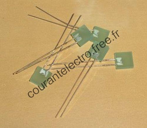 HLMP0503 haute efficacité vert