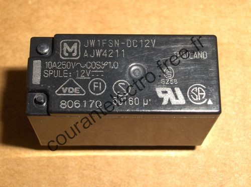 1a/1c/2a/2c/5A/10A power relays for power supply
