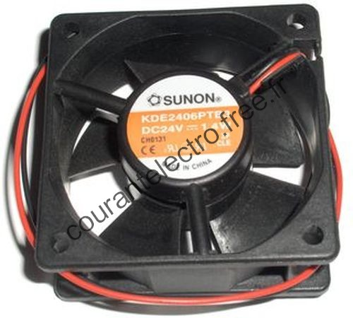 KDE SERIES DC Brushless Fan Blower Traditional Motor Series