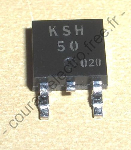 KSH50 Epitaxial silicium