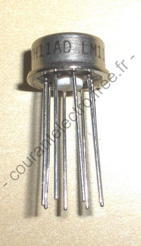 LM111H Comparateurs analogiques