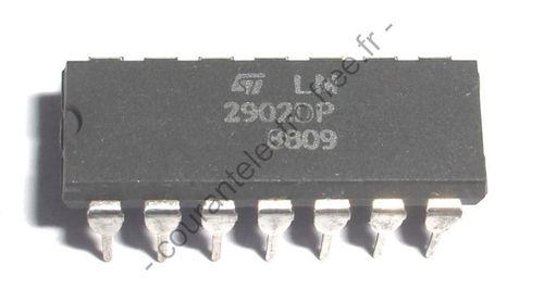 LM2902DP faible puissance