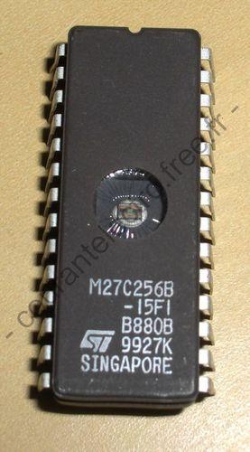 M27C256B-15FI UV effacable