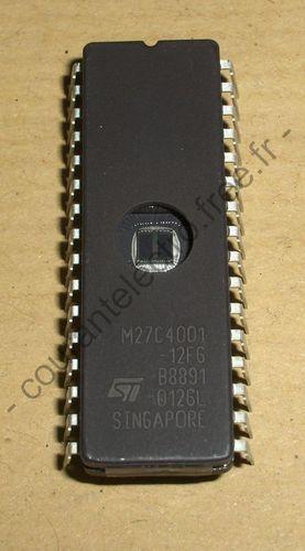 M27C4001-12F6 UV EPROM