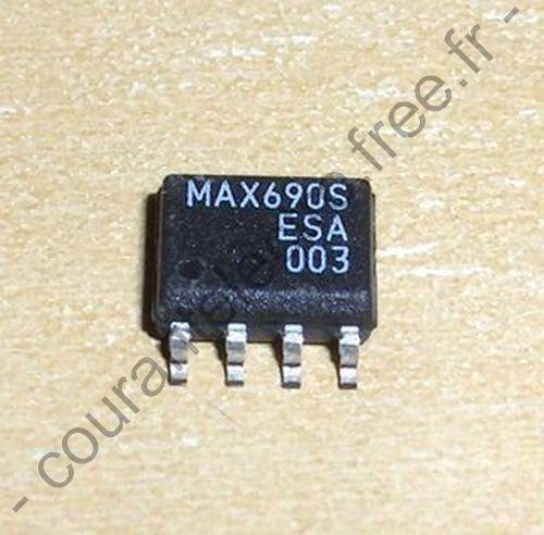 MAX690SESA Circuits de surveillance microprocesseur