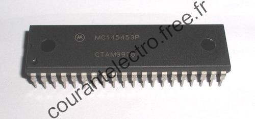 MC145453P LCD Driver Serie Interface