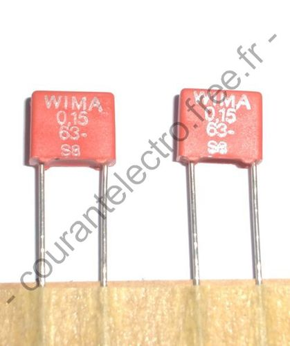 Metallized Polyester (PET) Capacitors in PCM 5 mm