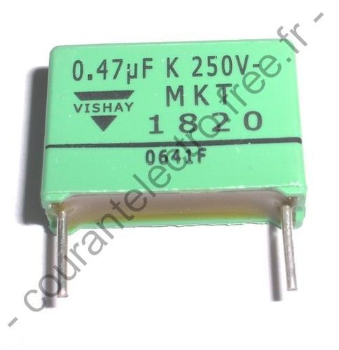 DC Film Capacitors MKT Potted Type