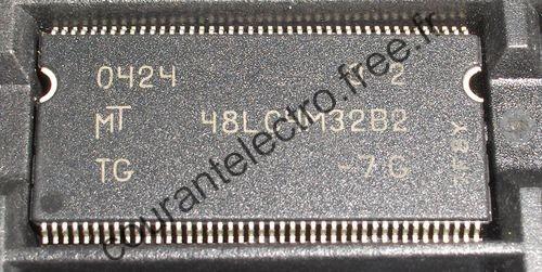 SDR SDRAM 512K x 32 x 4 Banks