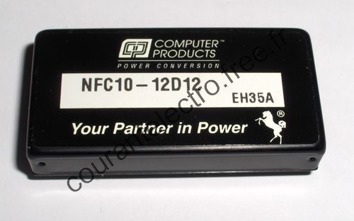 Single and dual output 10 Watt Wide input DC/DC converters