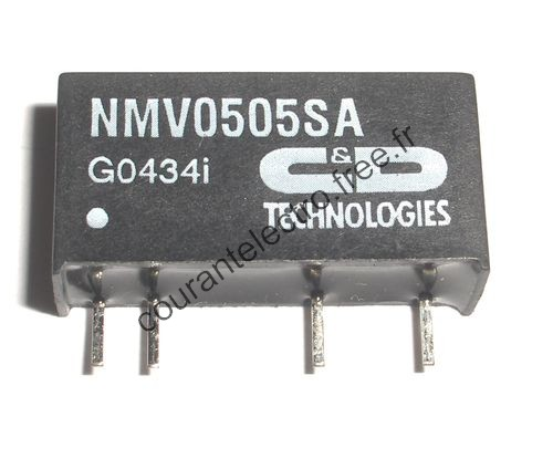 3kVDC Isolated 1W Single & Dual Output DC-DC Converters