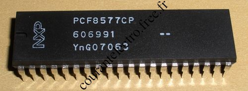 PCF8577CP LCD direct/duplex driver I²C-bus interface