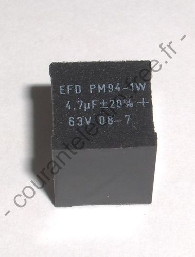 CAPACITORS FOR HIGH FREQUENCY SWITCH MODE POWER SUPPLIES
