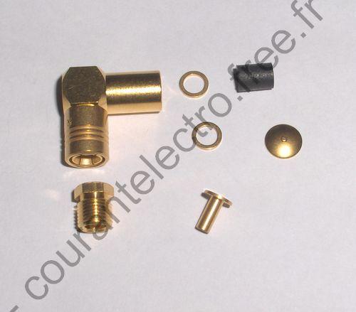 R114165000W Connecteurs RF coaxiaux SMB