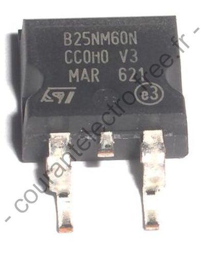 STB25NM60N