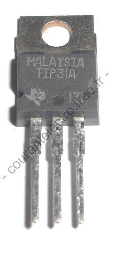 TIP31A NPN silicium