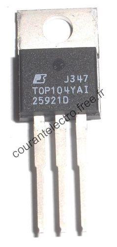 TOP104YAI Convertisseur CA / CC 30-60 W 100/110 VAC