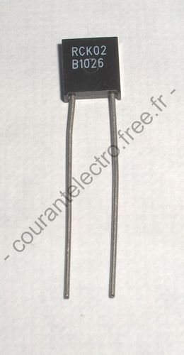 RCK02 1K1361 High Precision Foil Resistor with TCR of ± 2.0 ppm/°C Tolerance of ± 0.005 % and Load Life Stability of ± 0.005 %