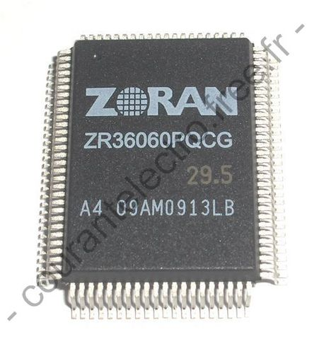 ZR36060PQCG JPEG CODEC